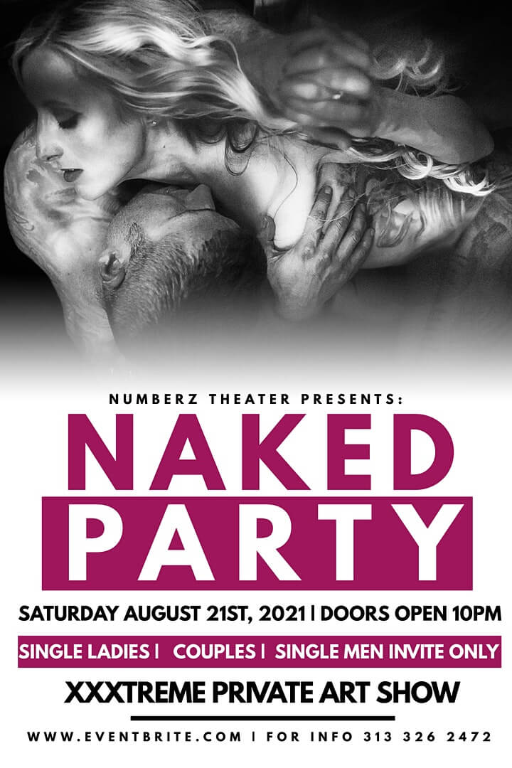 Naked Party Detroit